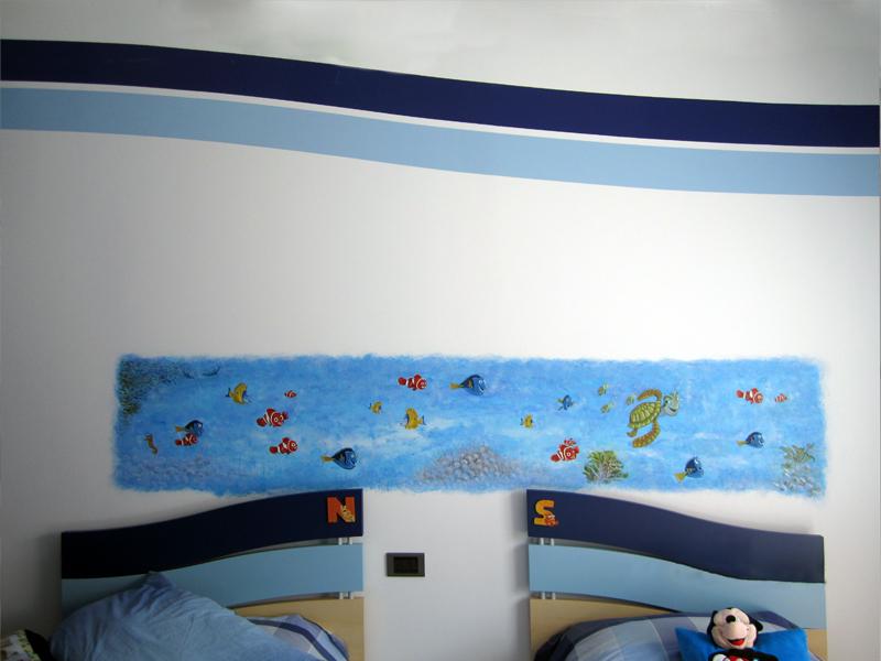 Decorazioni per camere bambini edilizia e restauri geco - Decorazioni camera ...