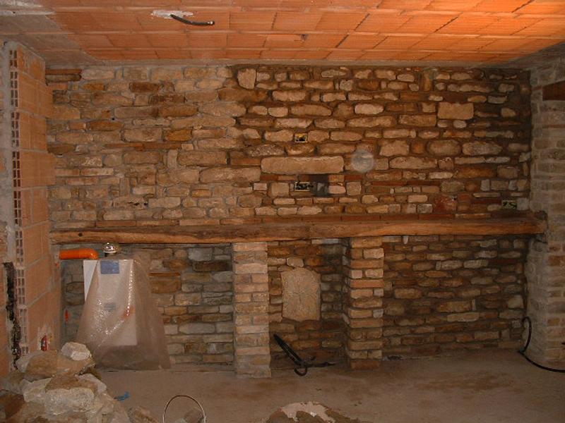 Pareti In Pietra E Legno : Lavori edili edilizia e restauri geco marche ascoli